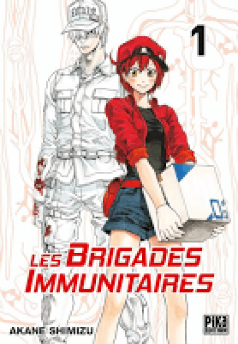 Les Brigades Immunitaires, Manga, Critique Manga, Pika Édition, Akane Shimizu,