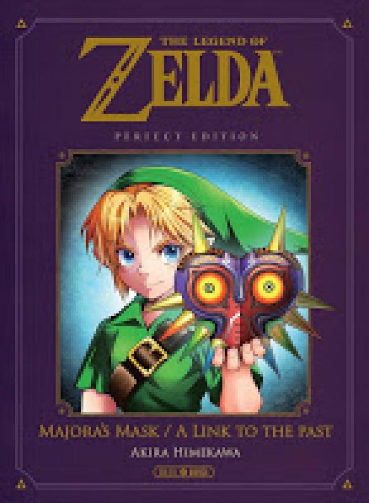 The Legend of Zelda - A link to the Past & Majora's Mask, Manga, Actu Manga, Soleil Manga, Akira Himekawa,