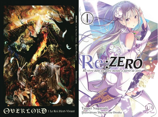 Actu Light Novel, DanMachi, Japan Expo 2017, Light Novel, Manga, Ofelbe, Opération éditeur, Overlord, Re:Zero Re:Life, Spice and Wolf, Sword Art Online : Alicization,