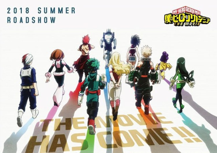 My Hero Academia, My Hero Academia the Movie, Kohei Horikoshi, Manga, Actu Manga, Jump Festa 2018,