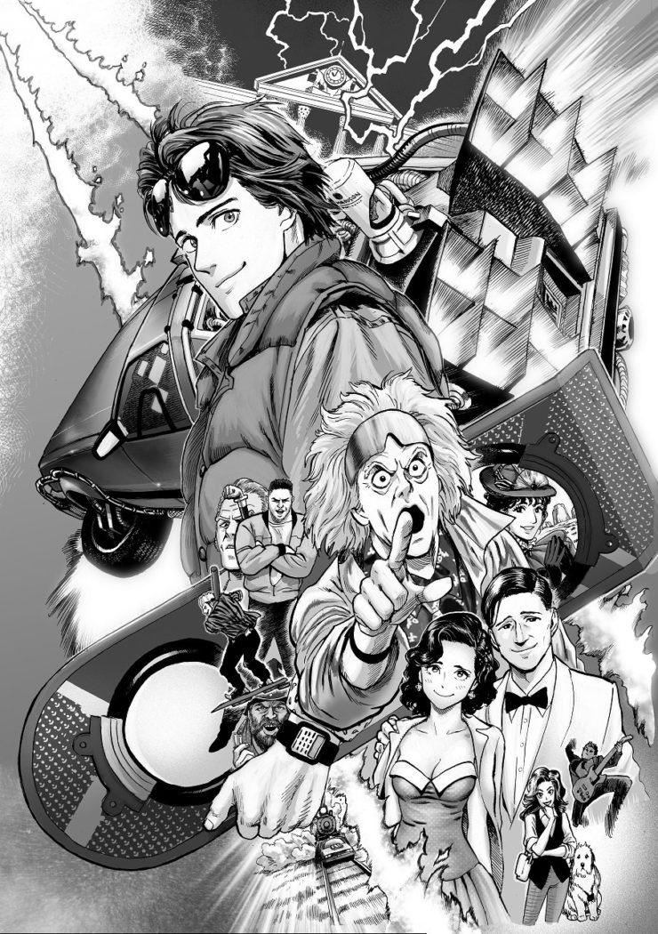 L'auteur de One Punch Manga prépare un manga Retour Vers le Futur ! Découvrez toute son actu sur Nipponzilla, la référence en matière de manga, d'anime, de jeux vidéo et de cinéma