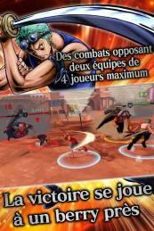 One Piece : Bounty Rush est disponible sur smartphones