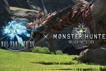 Final Fantasy XIV Online et Monster Hunter World ensemble ! Plus d'infos pour Nipponzilla !