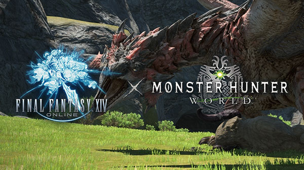 Final Fantasy XIV Online et Monster Hunter World ensemble ! Plus d'infos pour Nipponzilla !