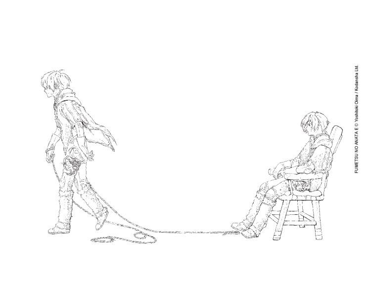 Suivez toute l'actu de To Your Eterniy et Yoshitoki Oima sur Nipponzilla, le meilleur site d'actualité manga, anime, jeux vidéo et cinéma