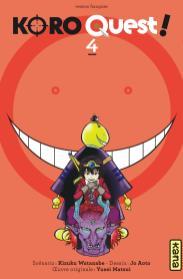 Koro Quest !, Koro sensei quest, Koro-sense Q!, Koro-sense Quest!, 殺せんせーQ!, Jo Aoto, Kizuku Watanabe, Saikyo Jump, Shueisha, Anime Digital Network, Kana, Assassination Classroom, Manga, Anime, Studio Lerche, Résumé, Critique, News, Personnages, Citations, Récompenses