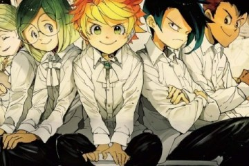 The Promised Neverland, Yakusoku no Neverland, 約束のネバーランド, Weekly Shonen Jump, Shueisha, Kazé Manga, Kaiu Shirai, Posuka Demizu, Shonen, Anime Digital Network, Wakanim, VOSTFR, VF, Streaming, Anime, Manga, Résumé, Critique, News, Personnages, Citations, Récompenses