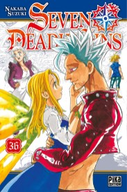 The Seven Deadly Sins / Nanatsu no Taizai, Nakaba Suzuki, Weekly Shônen Magazine, Manga, Résumé, Critique, News, Personnages, Citations, Récompenses