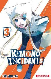 Kemono Incidents Anime Studio Ajiado Shô Aimoto Fujimori Masaya Kimura Noboru Tachibana Nozomi Shueisha Kurokawa Kemono Jihen