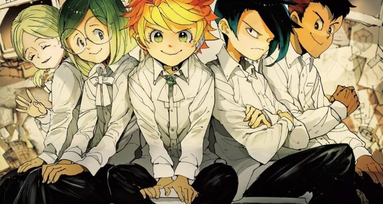 The Promised Neverland Kaiu Shirai Posuka Demizu Weekly Shônen Jump Shûeisha Manga Kazé Manga