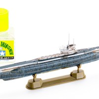 生まれて始めて、導かれるままに潜水艦のプラモデルが「作らさった」日。