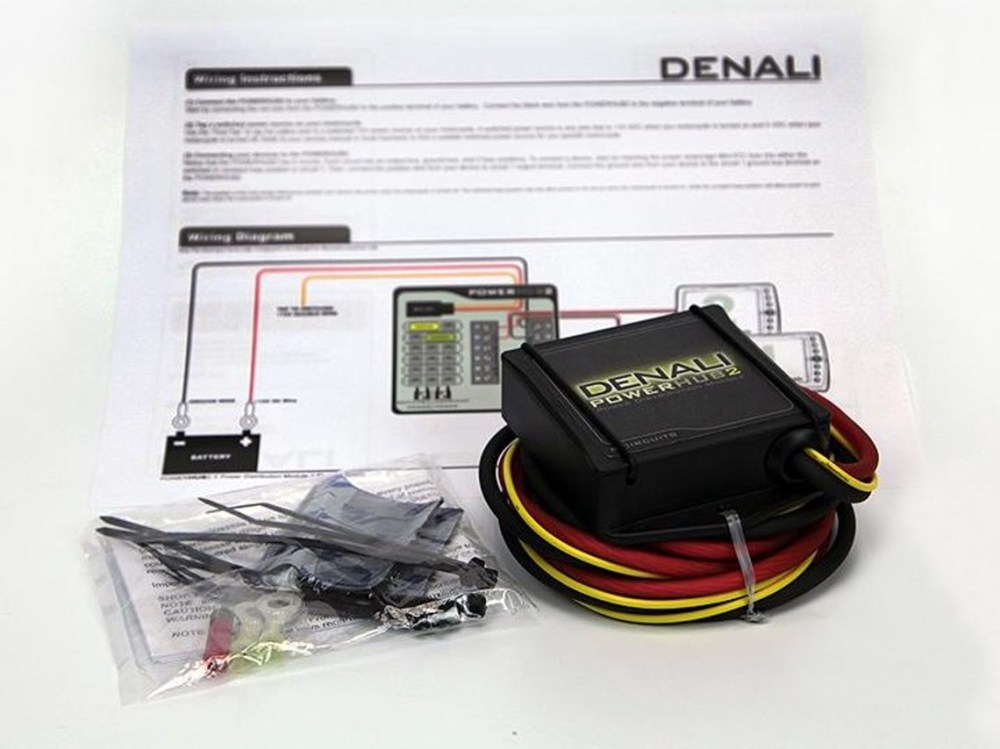 medium resolution of denali power hub fuse block with wiring harness sharetweetpin