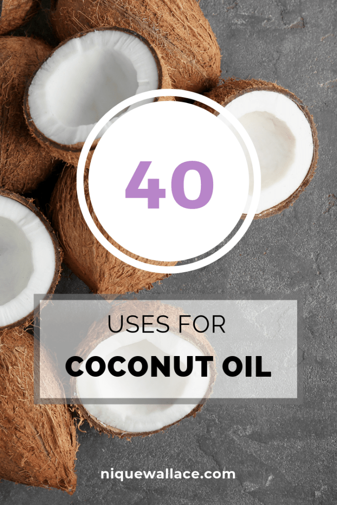 40 Uses for Coconut Oil