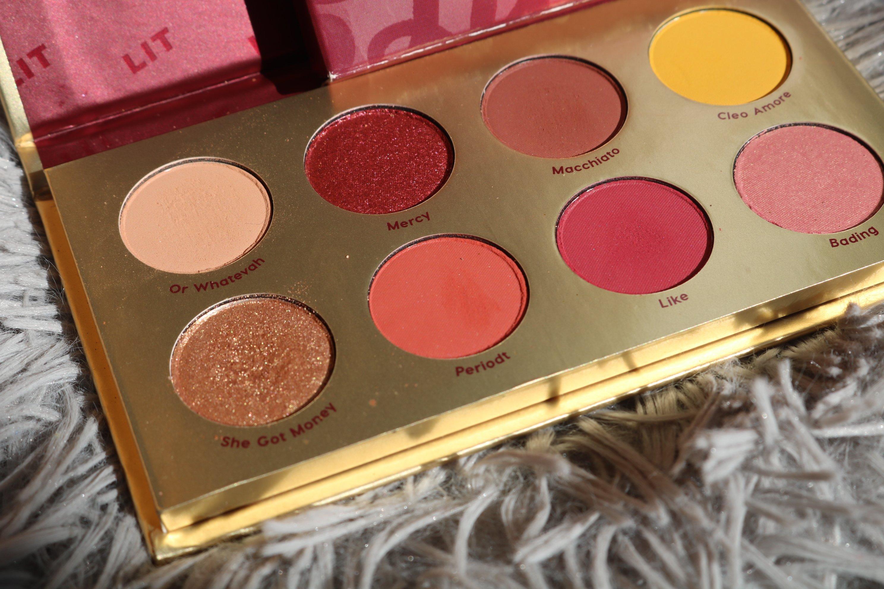 Bretman Rock X colour pop Lit palette - Nique's beauty