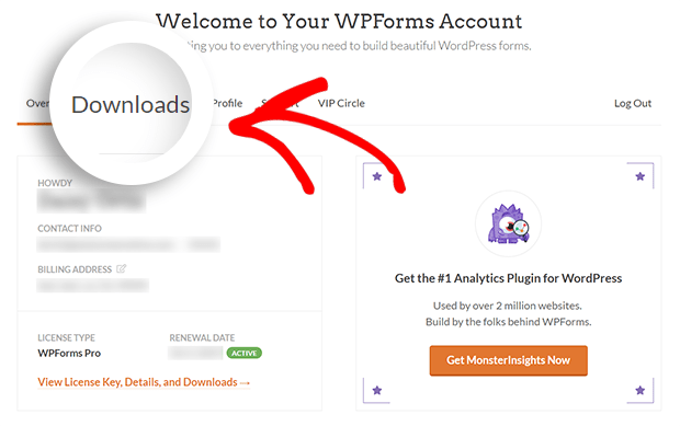 Download and Install WPForms