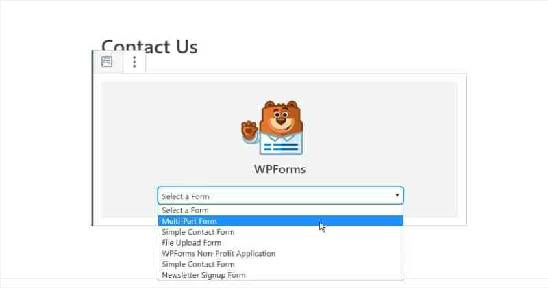 Select WPForms - If you are new to my website then I would recommend reading this full article in order to create an engaging Multi-page form. - Niranjan - Niranninja