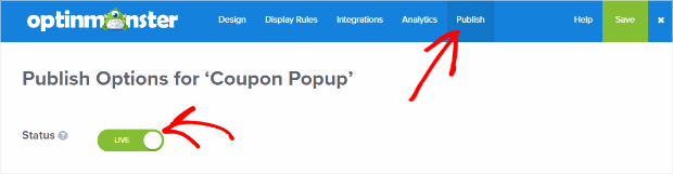 coupon publish - How to Create a Popup Coupon that Boosts Sales