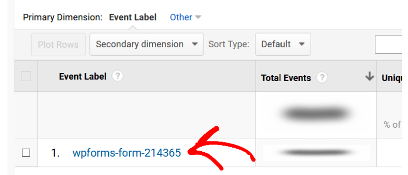 Event label track form conversion - MonsterInsights