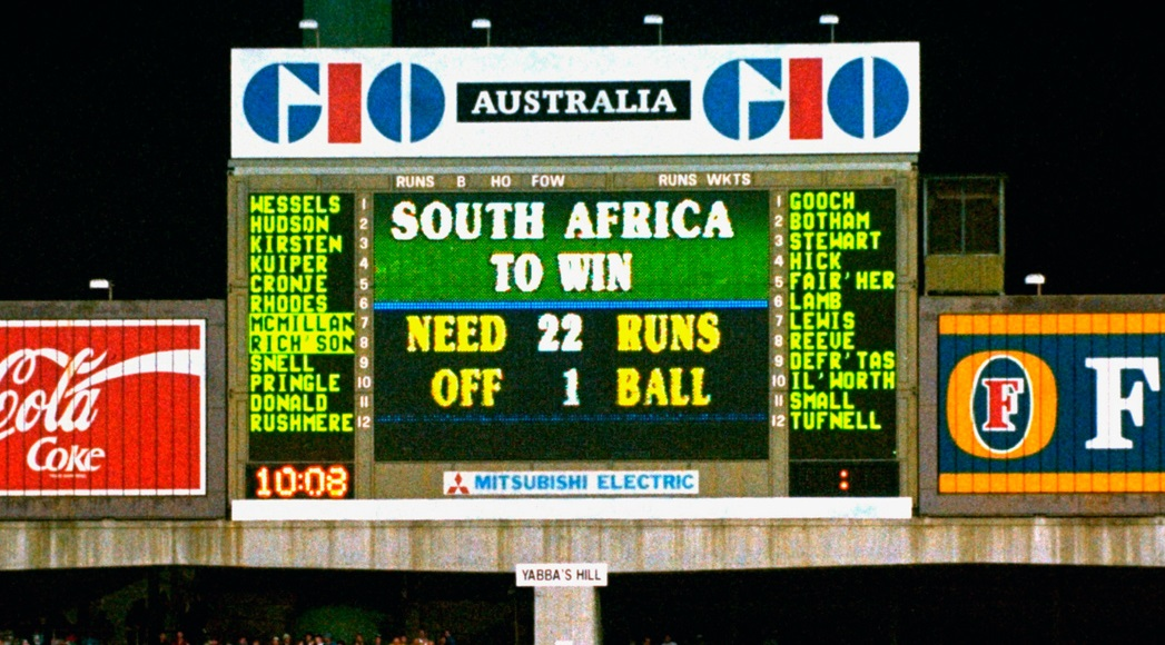 The Story of 22 Runs required Off 1 Ball