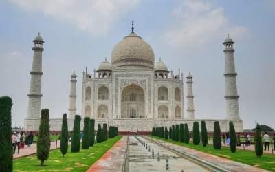 তাজমহল আগ্রা, ইন্ডিয়া/ভারত