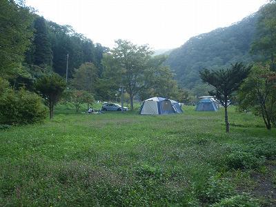南茅部 河川公園キャンプ場 サイト画像