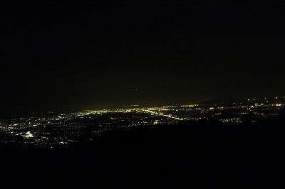 きじひき高原の夜景
