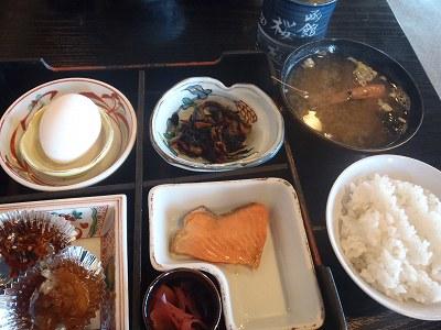 桜庭 朝食