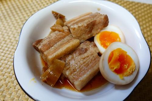 豚の角煮 鍋