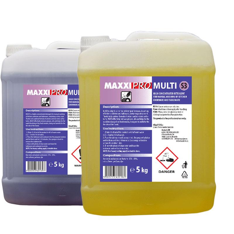 Професионален препарат за миене съдове maxxi pro multi