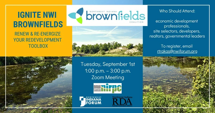 Ignite NWI Brownfields - Meeting Invitation