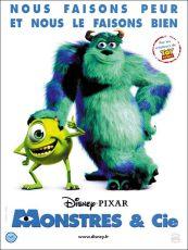 film - monstre et compagnie - pixar