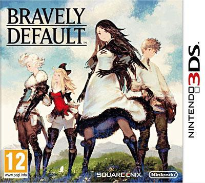 jeu vidéo - bravely default - 3DS