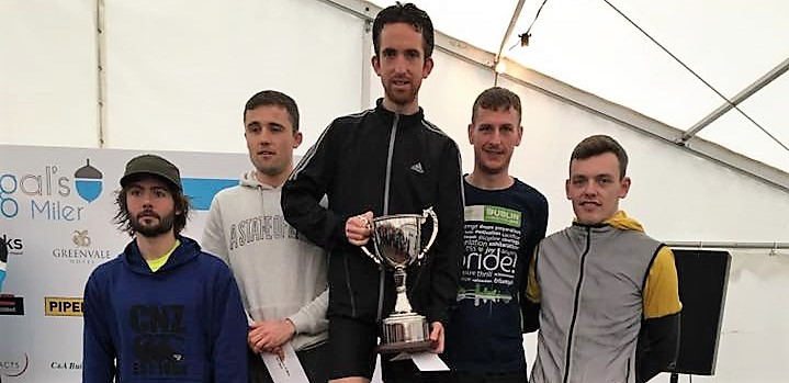 Scott Rankin and Natalie Hall take top honours at Fergal's 10 mile Race!