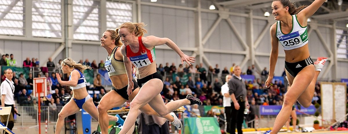 Amy Foster, Leon Reid and Adam McMullen star at Irish Life AAI National Senior Indoor Championships!