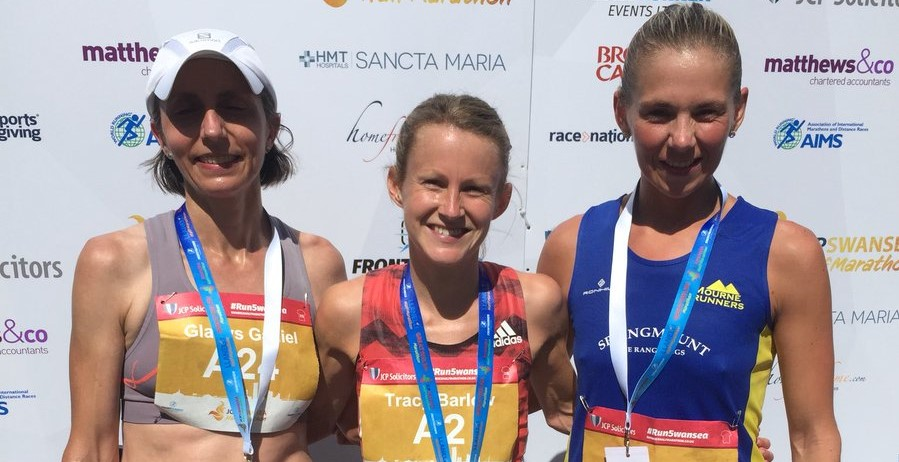 Laura Graham and Gladys Ganiel O'Neill secure podium places at Swansea Half Marathon!