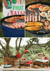 Three Wedding Reception Menu Ideas, Part 2: Backyard Barbecue