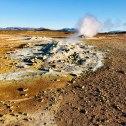 Hverir Geothermal Mud Pools & Fumaroles