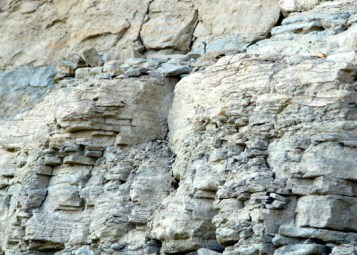 আলোকচিত্র ০২: বান্দরবানে স্তরিভূত মাটিতে তৈরি পাহাড় [ছবি: লেখক]