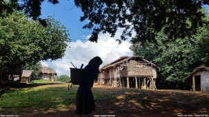 জুরভারং পাড়া - আইকনিক এই ছবিটি তুলেছেন: তানভির মোর্শেদ