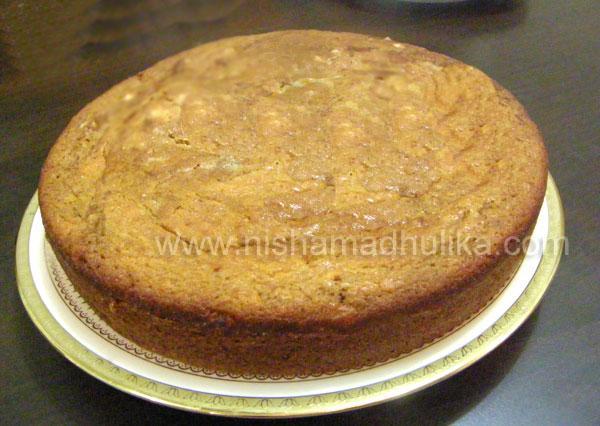 Eggless Cake Recipe In Microwave By Nisha Madhulika
