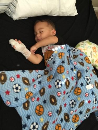 noah sleeping