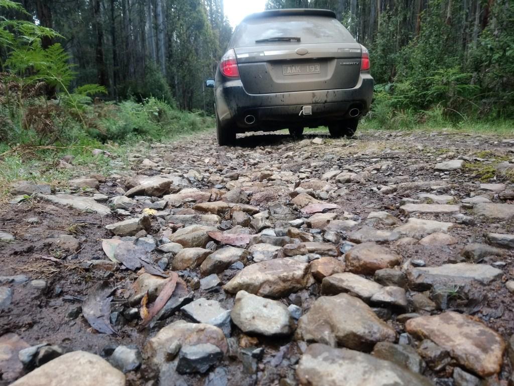 Rocky road Bull Creek Track Toolangi