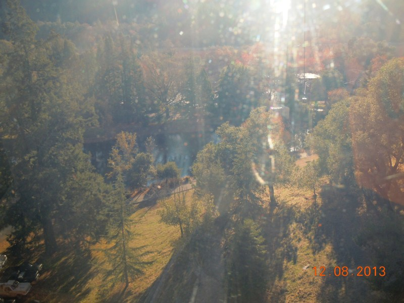The view from the gondola