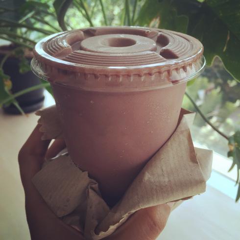 Chocolate thick shake from Corner House