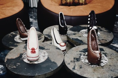 Chocolate shoes for the fashionista