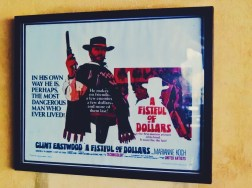I loved the vintage movie posters