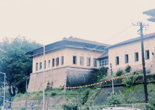 Exteriors of the Madikeri fort