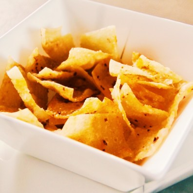 Very exotic and addictive chips bowl