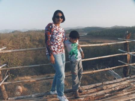 At the Satpura National Park safari