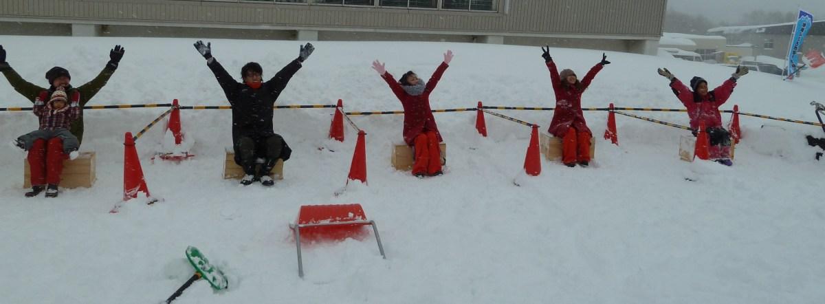 雪かきシーズン到来!大変な雪かきも捉え方次第でエンターテイメント?
